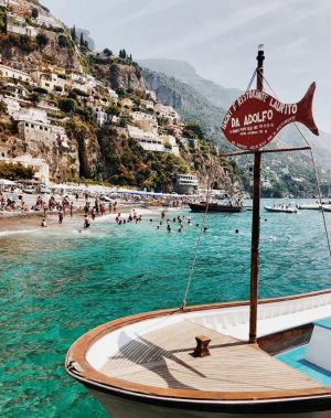 best beach clubs in positano da adolfo