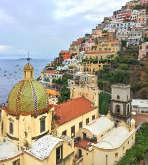view of positano italy amalfi coast