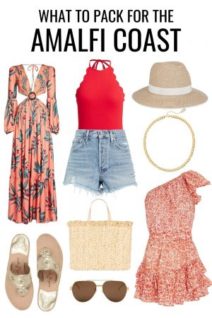 What to Wear in Amalfi Coast - Outfit Ideas