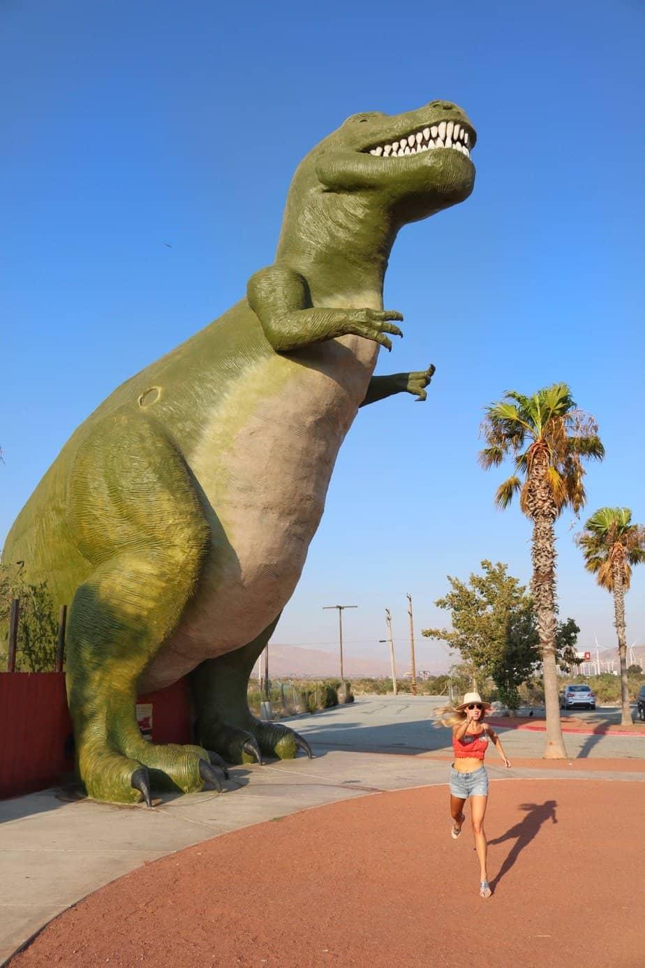 dinosaurs palm springs