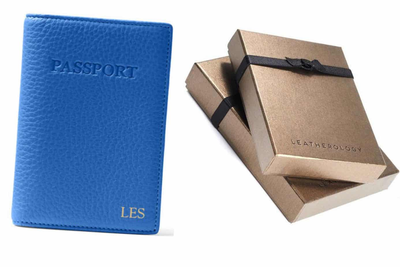 leatherology passport cover