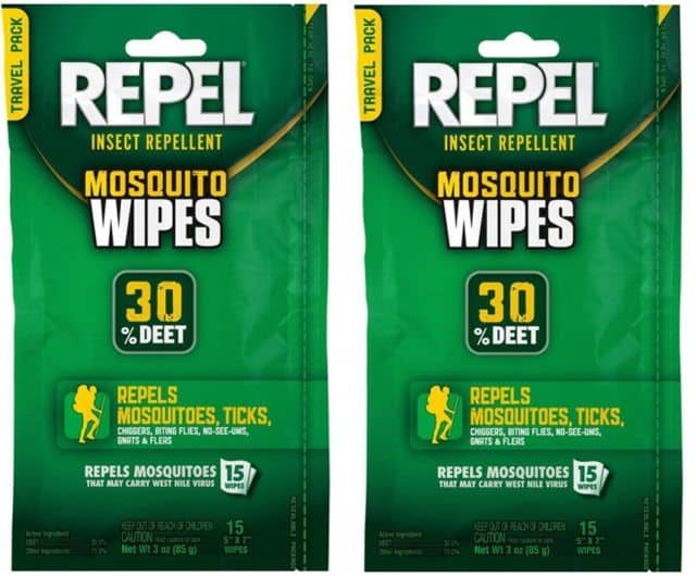 deet wipes for safari