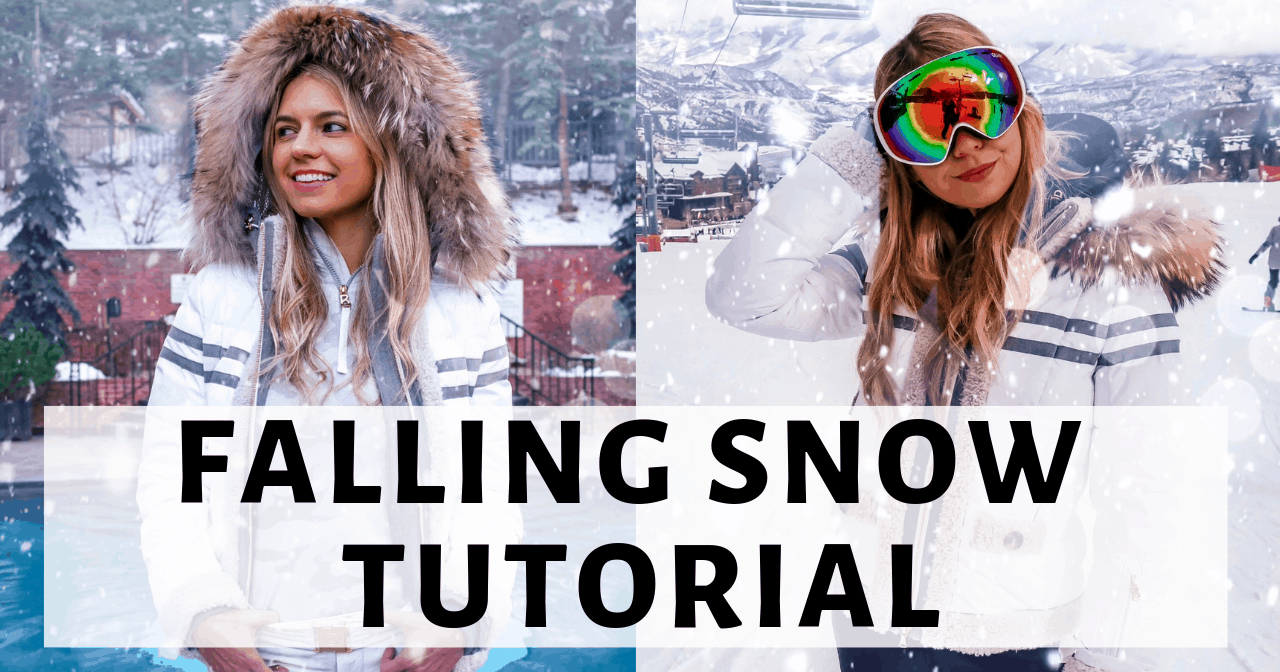 How to Add Falling Snow to a Photo on Instagram