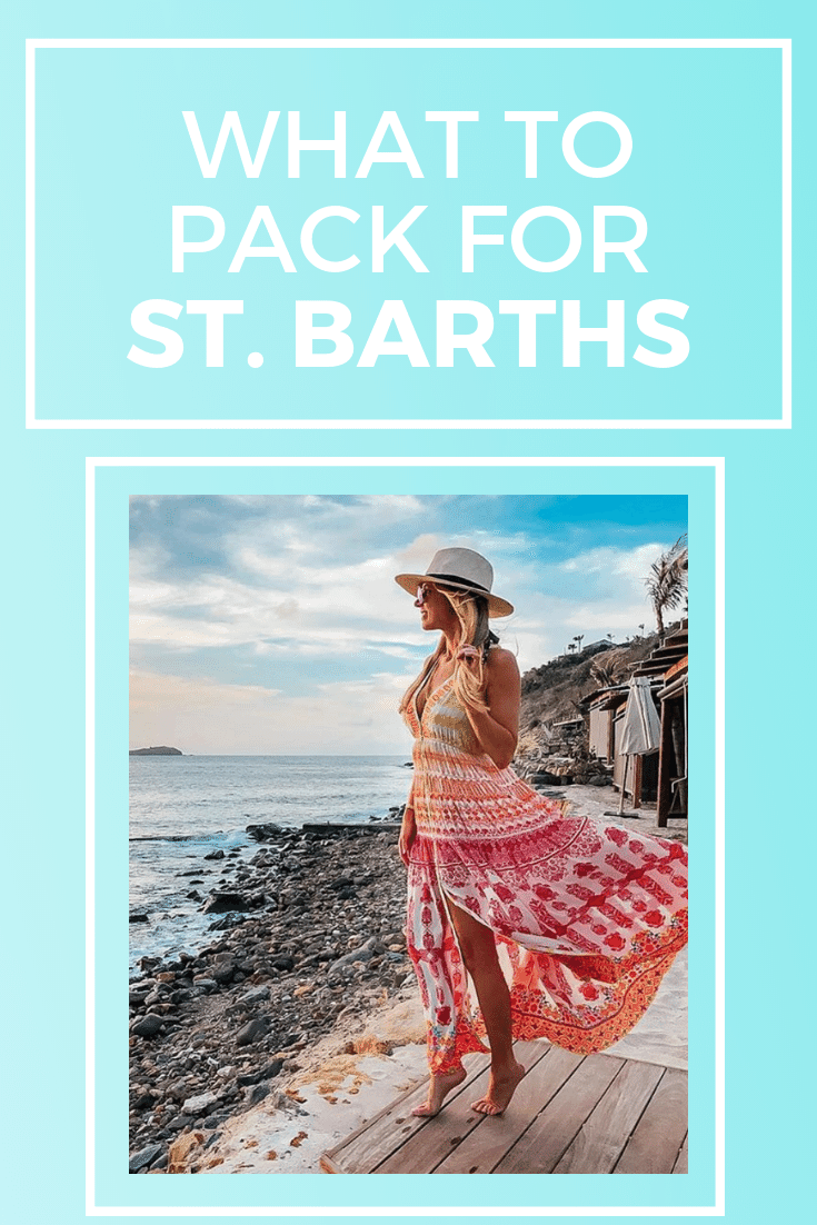what to pack for st barths