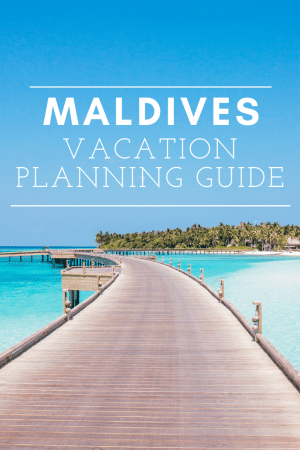 how to plan maldives vacation honeymoon