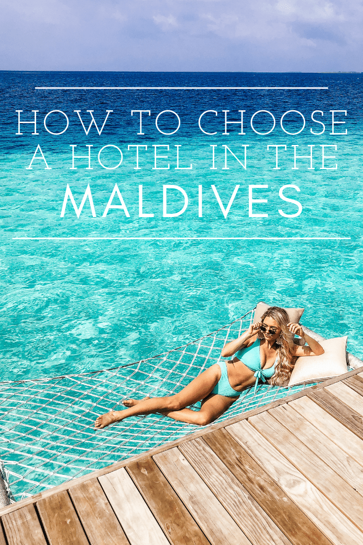 how to choose a hotel in the maldives