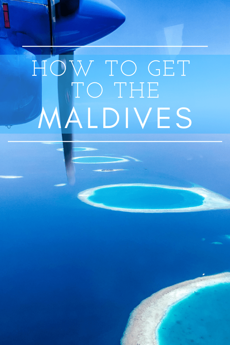 how to get to the maldives from the us
