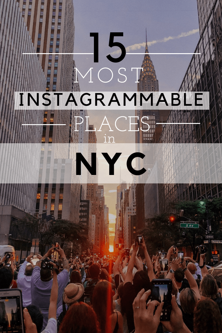 most instagrammable places nyc