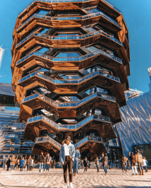 most instagrammable spots in nyc hudson yards the vessel