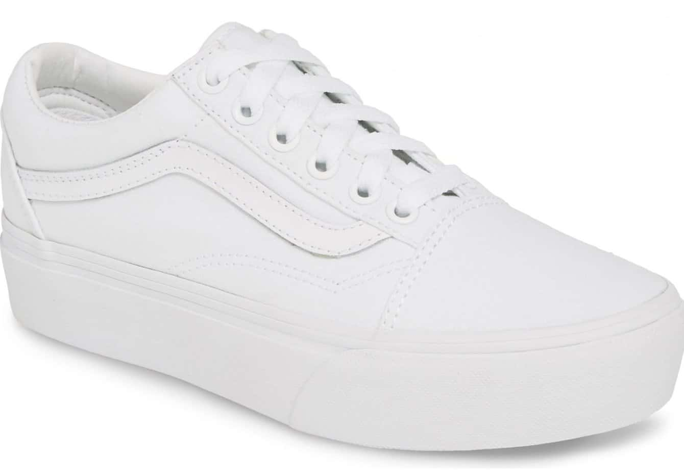 white sneakers for women vans
