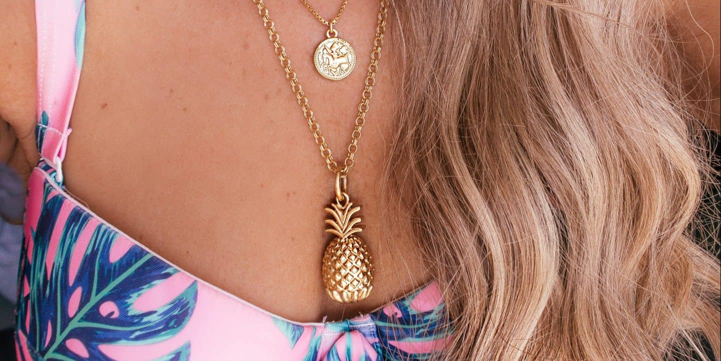 summer jewelry gold necklaces
