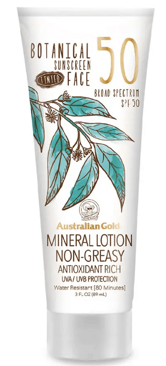 australian gold mineral lotion botanical sunscreen spf 50