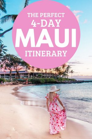 maui 4 day itinerary