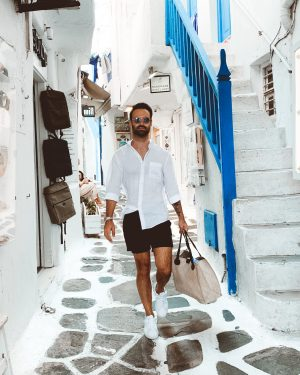 what to pack for greece men outfit