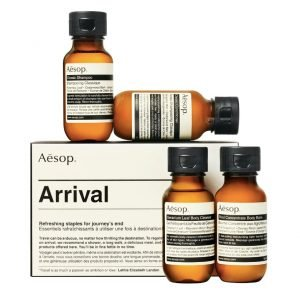 aesop travel kit toiletries for men