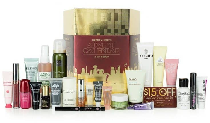 25 Days of Beauty Advent Calendar