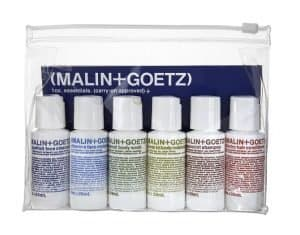 malin and goetz travel-sized toiletries