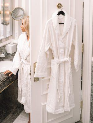 hy by frette bathrobe