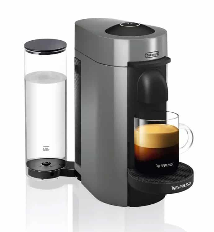 Nespresso Vertuo Plus Coffee and Espresso Machine by De'Longhi