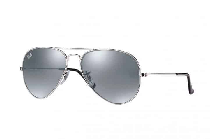 Ray-Ban Silver Aviator Sunglasses