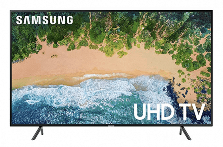 "Samsung Flat 43"" 4K UHD 7 Series Smart LED TV"