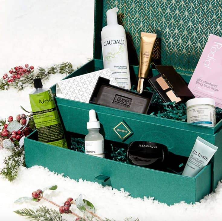 SkinStore Evergreen Holiday Collection
