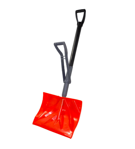 Snow Shovel with Back Saving Handle