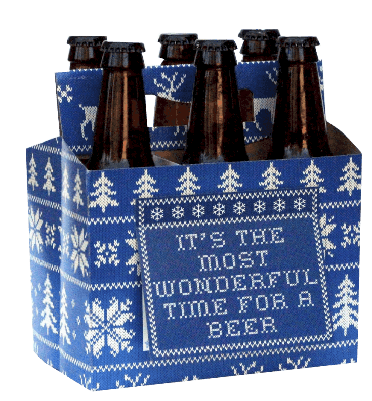 A Six-Pack That Doubles as a Greeting Card