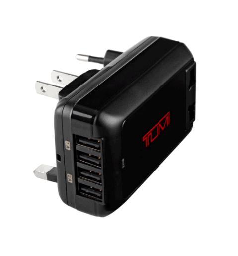 Tumi 4-Port USB Travel Adaptor