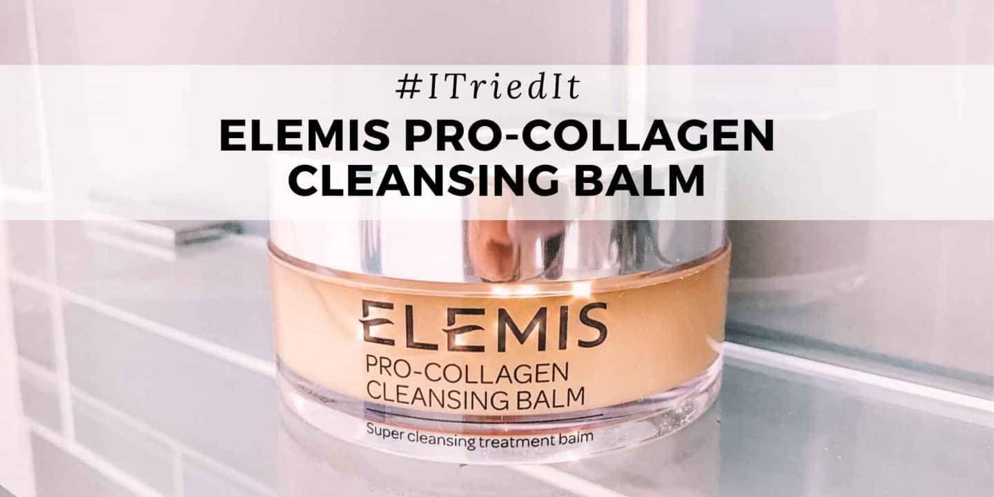 elemis cleansing balm review