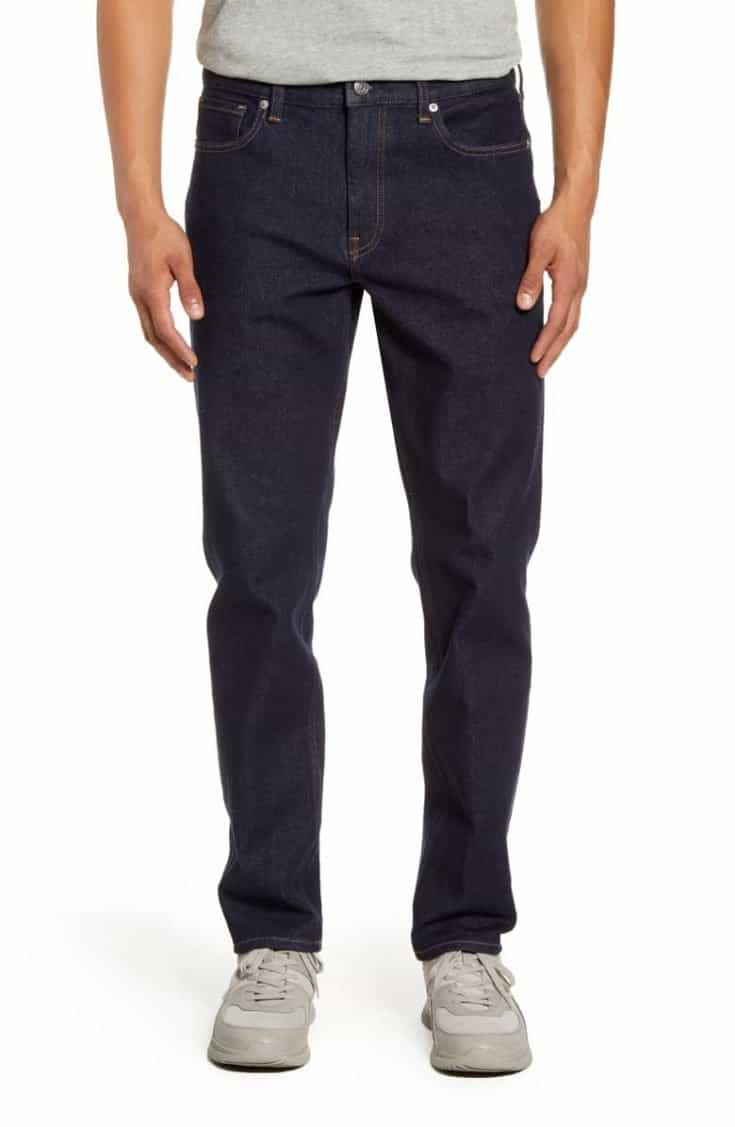 Everlane Uniform Athletic Fit Performance Jeans