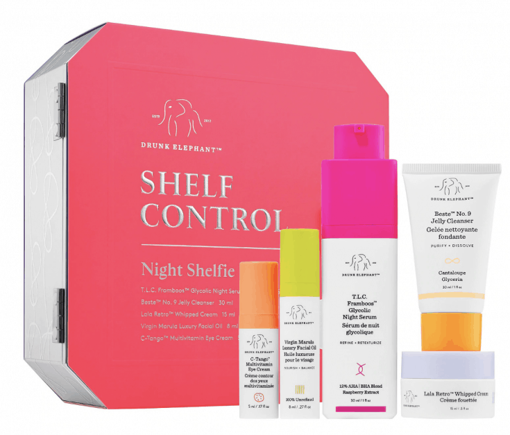 Drunk Elephant Shelf- Control Night Kit
