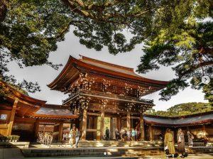 Meiji-jingu Shrine tokyo