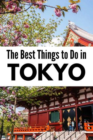 best things to do in tokyo itinerary