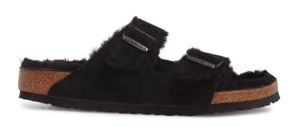 Birkenstock Shearling Sandal