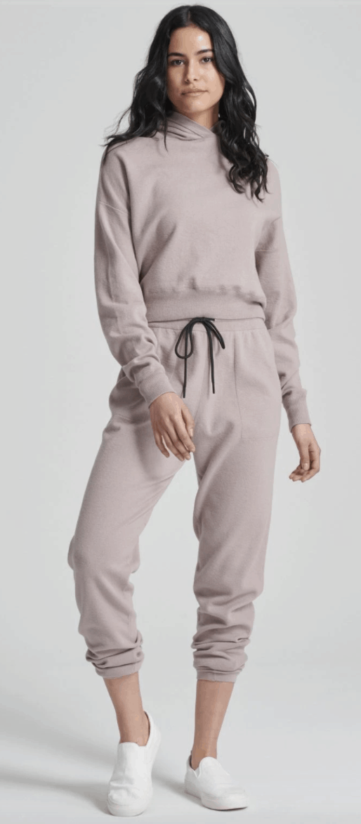 Naadam Everyday Jogger & Cropped Hoodie