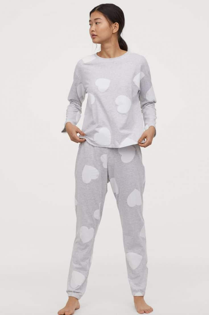 H&M Heart Pajamas