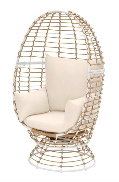 Home Depot WICKER OUTDOOR_PATIO EGG LOUNGE CHAIR
