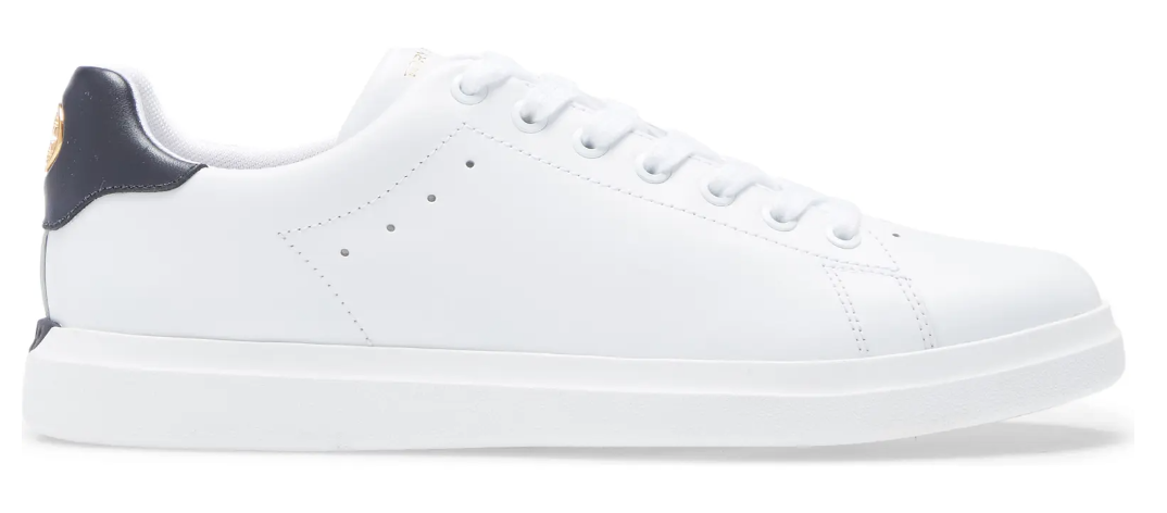 best white sneakers tory burch