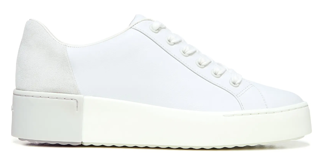 white sneakers for women vince
