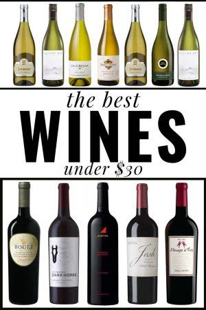 best wines under $30