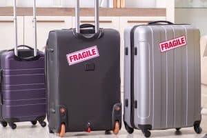 fragile bag sticker luggage