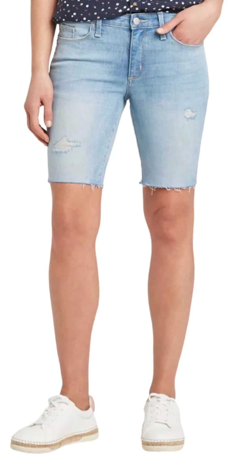 Best denim shorts for moms