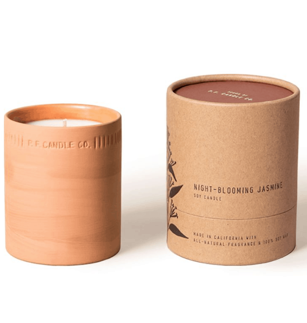 Night-Blooming Jasmine Terra Candle