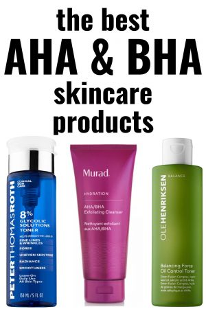 best aha bha skincare products