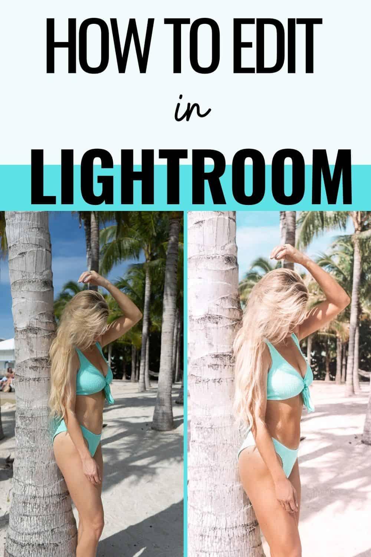 how to edit in lightroom
