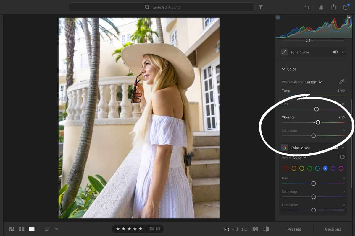 how to edit a photo in lightroom
