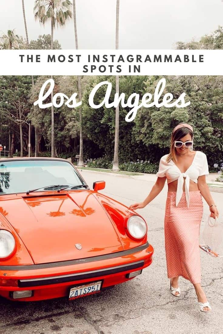 most instagrammable places in LA