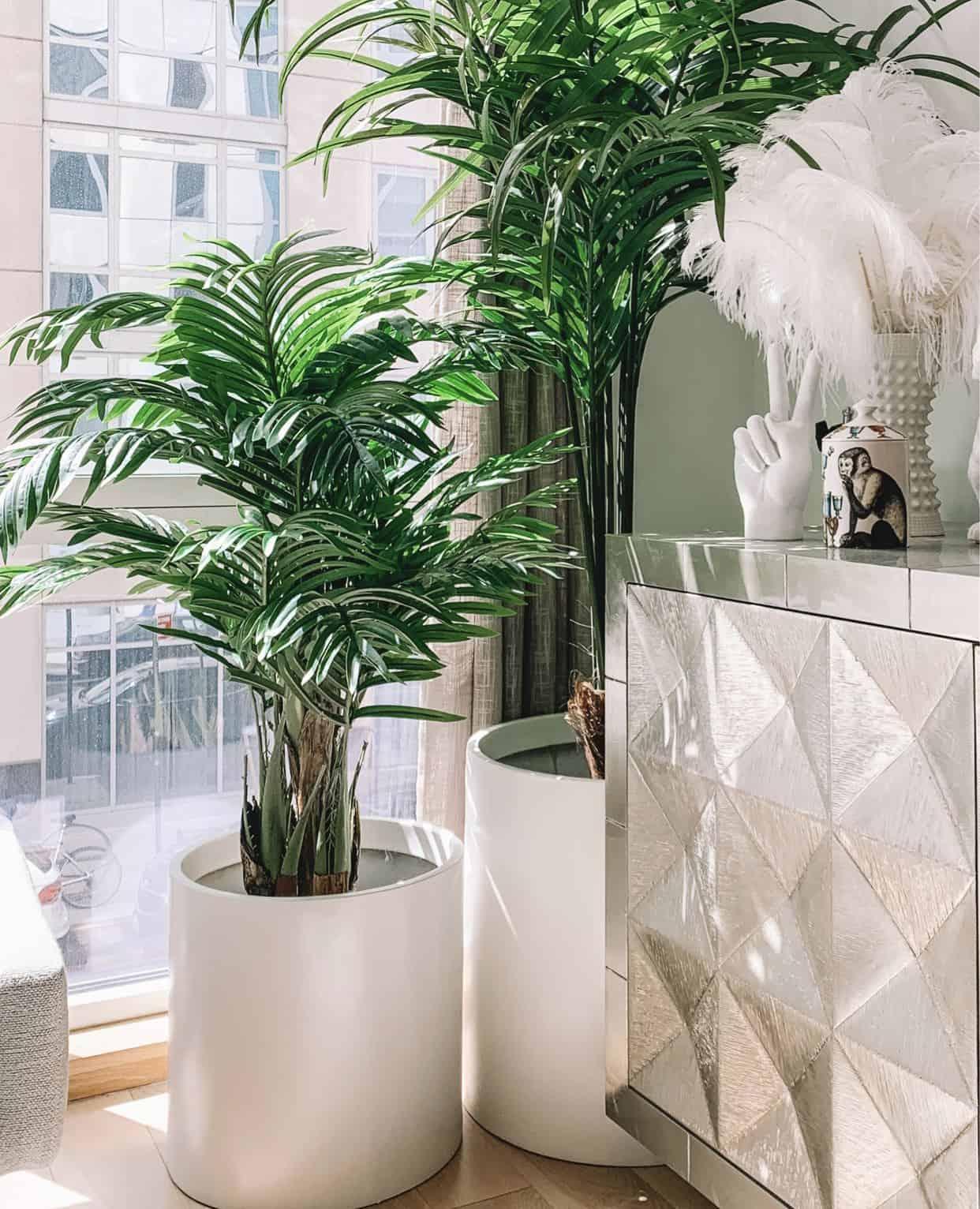 real-looking fake plants