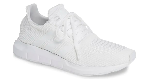 Adidas White Running Shoes for Men